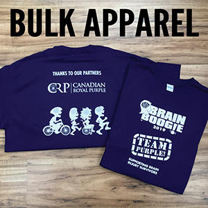 Customs - Bulk Apparel